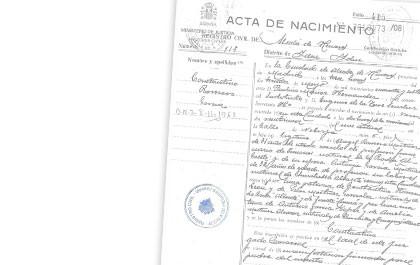 Registro Civil y Familia