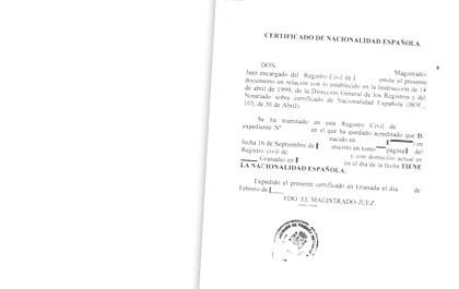 Nacionalidad y Domicilio